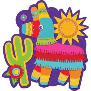 Cactus & Pinata Fiesta Cutout