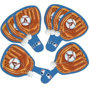 Arizona Diamondbacks Paddle Balls 8ct