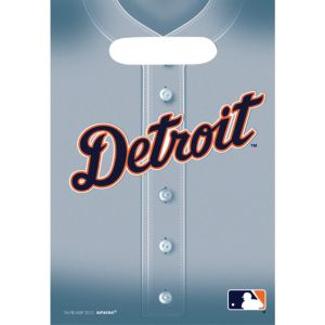 Detroit Tigers Favor Bags 8ct