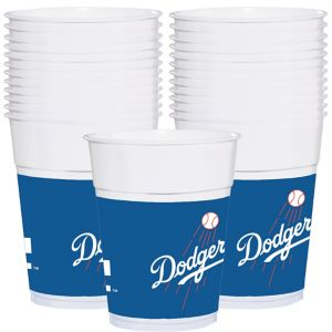 Los Angeles Dodgers Plastic Cups 25ct