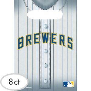 Milwaukee Brewers Favor Bags 8ct