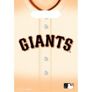 San Francisco Giants Favor Bags 8ct