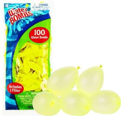 Neon Yellow Water Bombs 100ct