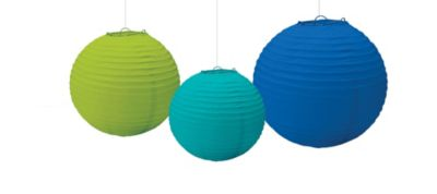 Cool Paper Lanterns 3ct