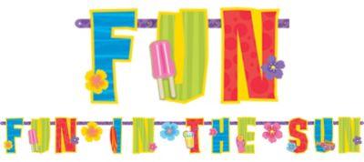 Summer Letter Banner