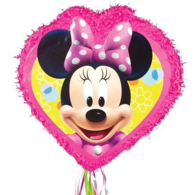 Pull String Minnie Mouse Pinata