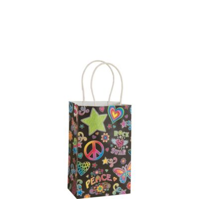 Groovy Black Gift Bag