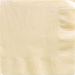 Vanilla Dinner Napkins 20ct