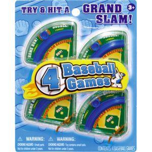 Home Run Pinball Games 4ct
