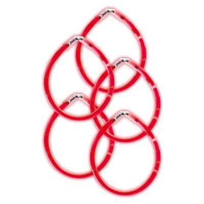 Red Glow Bracelets 5ct