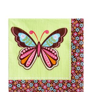 Hippie Chick Lunch Napkins 16ct