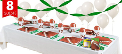Football Party Supplies Basic Party Kit