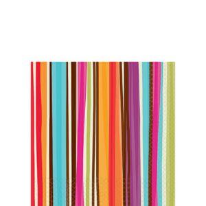Stripe Style Beverage Napkin 16ct