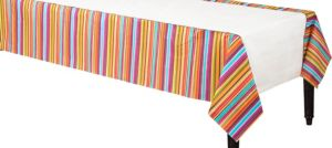 Stripe Style 54in x 102in Paper Table Cover