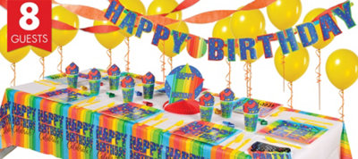 A Year To Celebrate 30th Birthday Super Party Kit