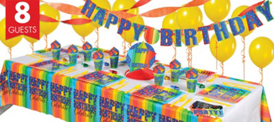 A Year To Celebrate 50th Birthday Super Party Kit