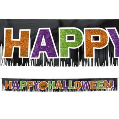 Happy Halloween Fringe Banner