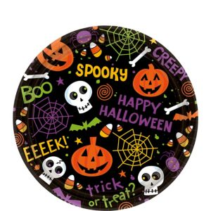 Spooktacular Dessert Plates 60ct