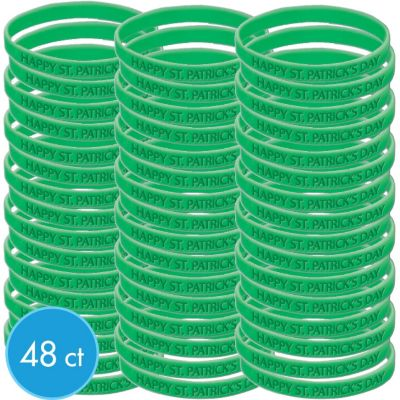 St. Patricks Day Attitude Bracelet Kit 48ct