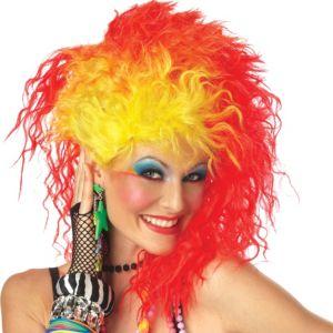 True Colors Rock Star Wig