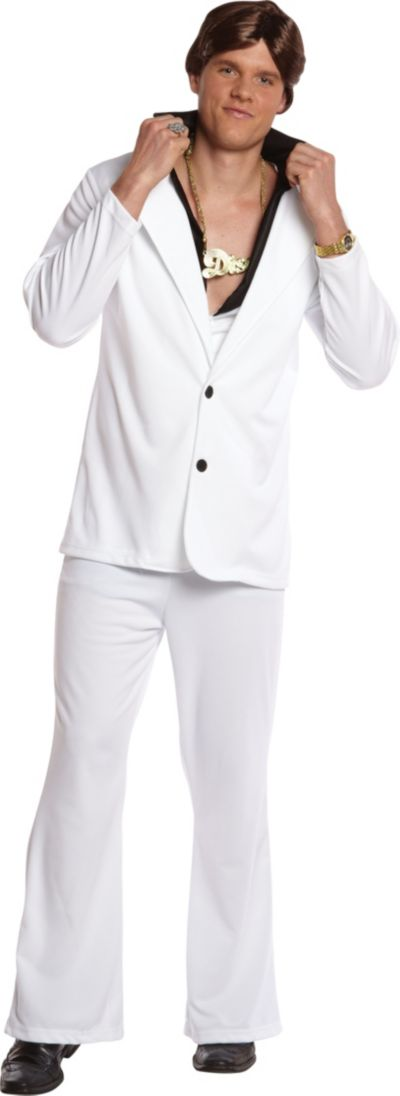 Adult Guys Disco Fever Costume