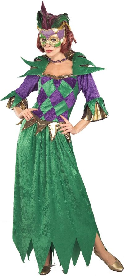 Adult Mardi Gras Queen Costume