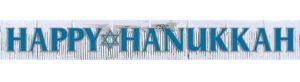 Hanukkah Glitter Fringe Banner