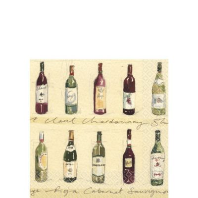 Vineyard Beverage Napkins 16ct