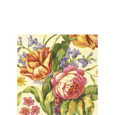 Pretty Bouquet Beverage Napkins 16ct