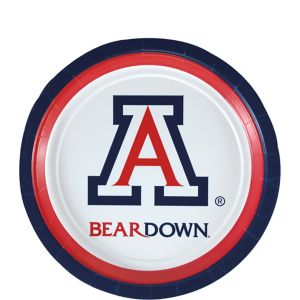 Arizona Wildcats Dessert Plates 8ct