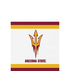 Arizona State Sun Devils Beverage Napkins 24ct