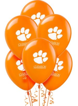 Clemson Tigers Balloons 10ct