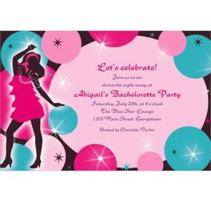 Custom Girl's Night Out Invitations