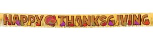 Thanksgiving Fringe Letter Banner