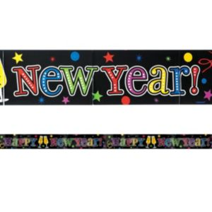 Colorful New Year's Banner