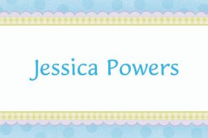 Custom Precious Bear Blue Baby Shower Thank You Notes