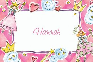 Custom Princess Party Thank You Notes