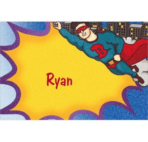 Custom Flying Superhero Thank You Notes