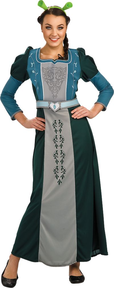 Adult Princess Fiona Costume Deluxe - Shrek Forever After