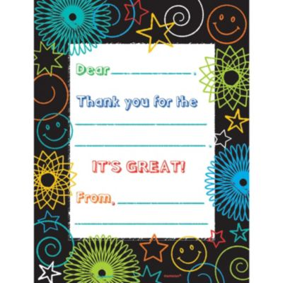Doodle Days Fill In Thank You Notes 8ct