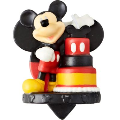 e8cd72c0128 Wilton Mickey Mouse Birthday Candle 2 1 2in x 3in