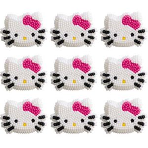 Hello Kitty Icing Decoration 12ct