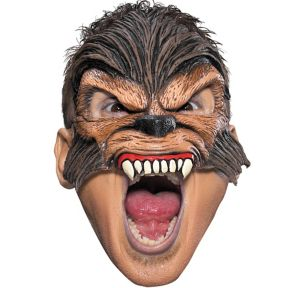 Chinless Werewolf Mask