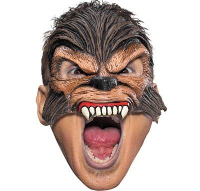Chinless Werewolf Mask