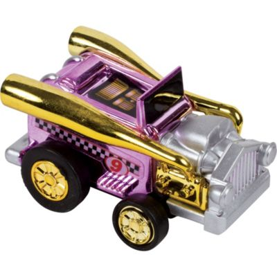 Pull Back Super C Roadster Mini Hot Rod