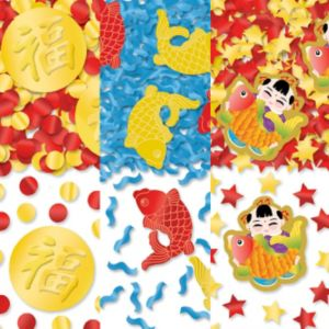 Chinese New Year Confetti 3pk