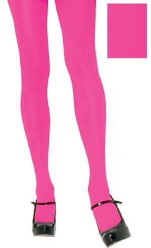 Adult Neon Pink Tights