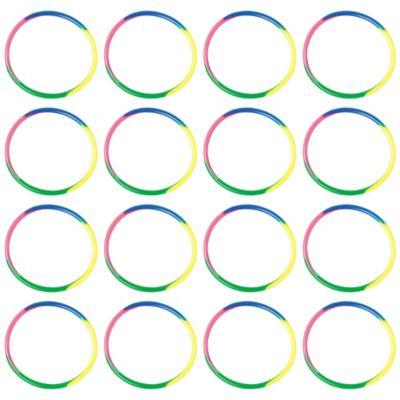 Neon Doodle Gummi Bracelets 16ct
