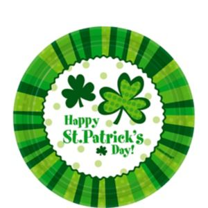 St. Patrick's Day Cheer Dessert Plates 60ct