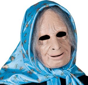 Latex Nana Old Lady Mask